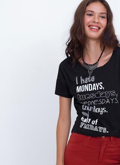 T-Shirt I Hate Mondays