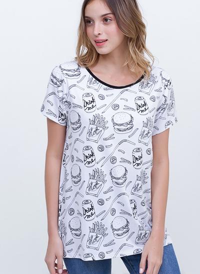 T-Shirt Camisetão My Burgers
