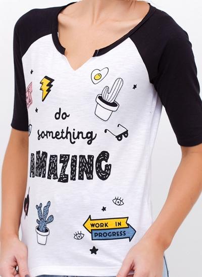 T-Shirt AMAZING Manga Raglan