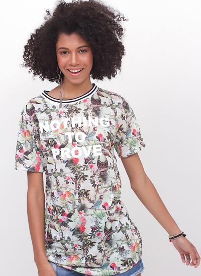 T-Shirt Alongada Tucanos