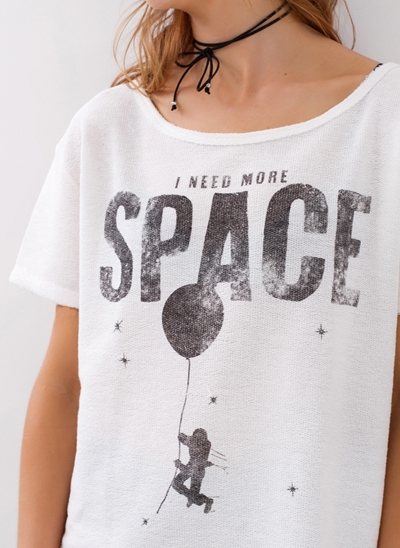 T-Shirt SPACE Ampla