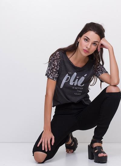 T-Shirt Plié