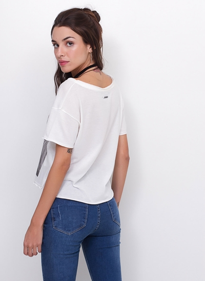 Blusa Cropped Lust
