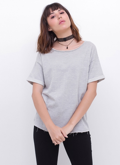 Blusa Regular Moletom