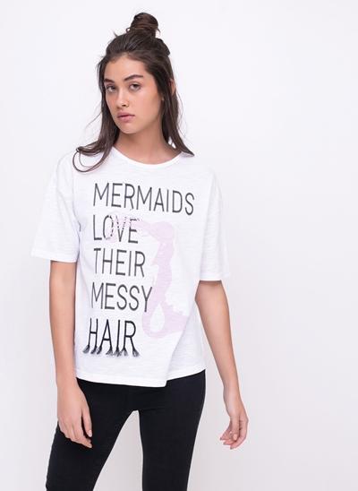 Blusa Mermaids Love Their Messy Hair