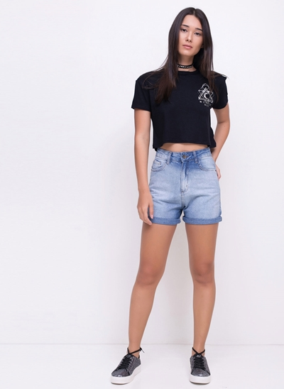 Blusa Cropped Mystic
