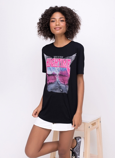Blusa Alongada Hightime