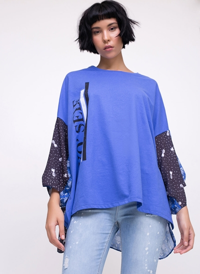 Blusa Super Ampla Pineapples