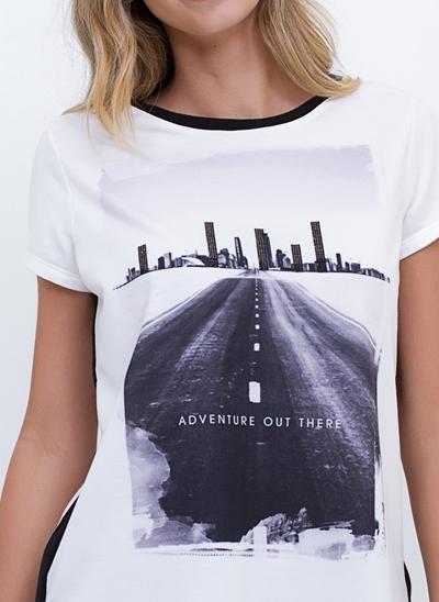 T-Shirt Moletom Adventure