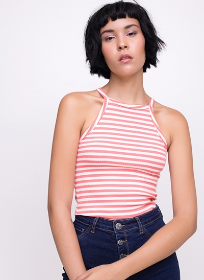 Regata Cropped Canelada