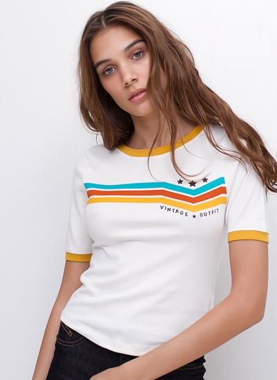 Blusa Vintage Justa em Ribana