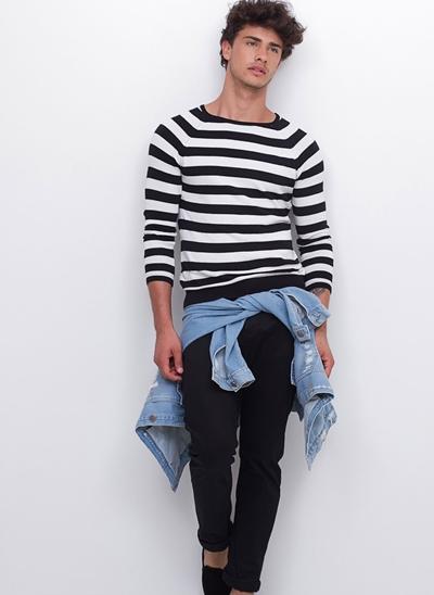 Suéter Manga Longa