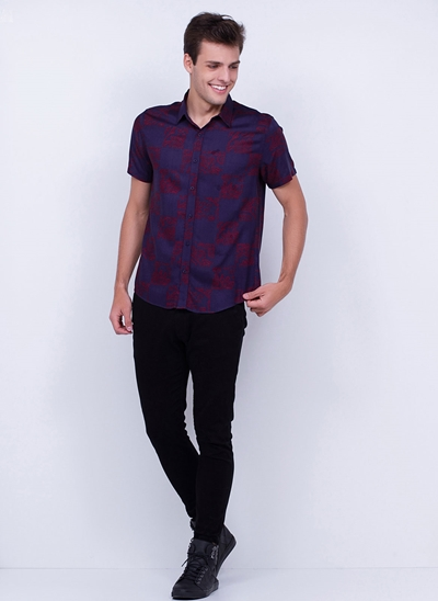 Camisa Estampada For U :)