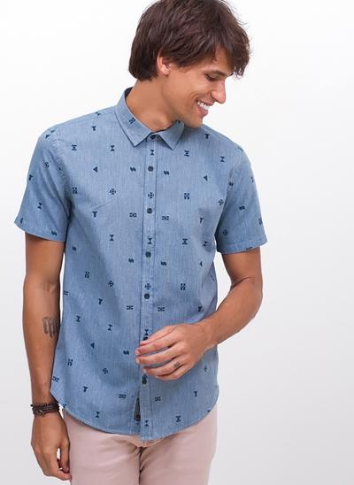 Camisa Manga Curta Ícones