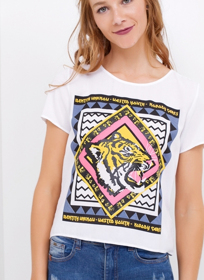 T-Shirt TIGER Costas Aberta