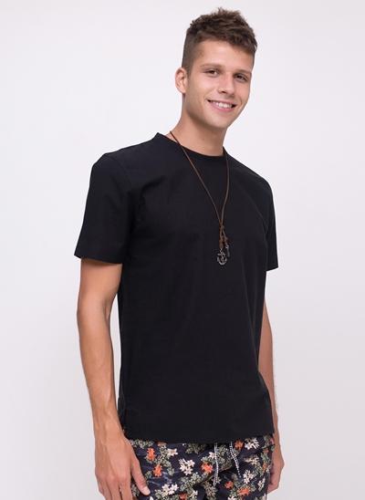 Camiseta Básica com Ribana