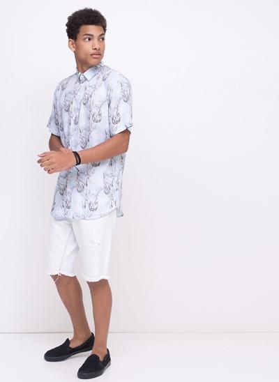 Camisa Folhagens