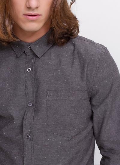 Camisa Slim Chambray Botonê