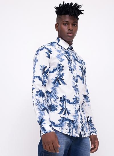 Camisa Manga Longa Tropical
