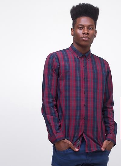 Camisa Regular Xadrez