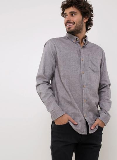 Camisa Flanela com Bolso