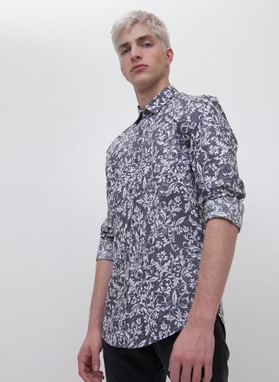 Camisa Regular Arabescos