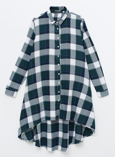Camisa Flanela Ampla