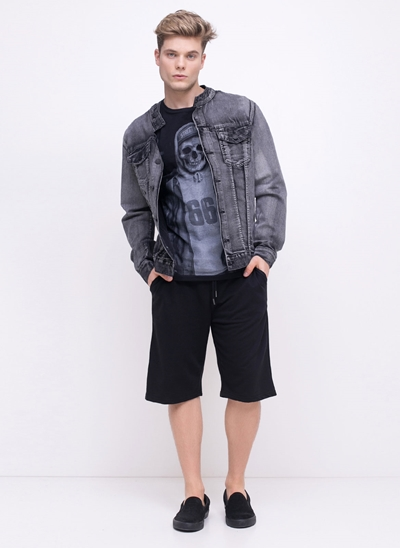 Jaqueta Black em Jeans