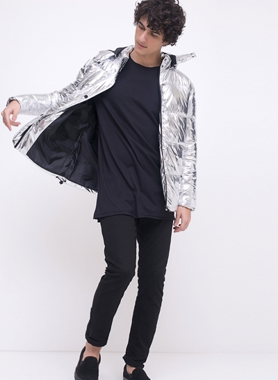 Jaqueta Ultraleve Metalizada