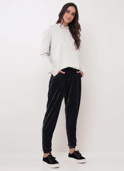 Calça Pijama em Veludo