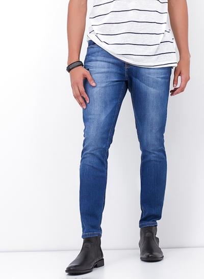 Calça Skinny em Jeans Classy