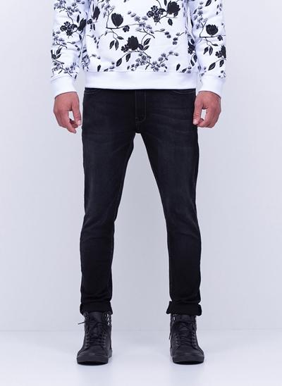 Calça Super Skinny Black em Jeans