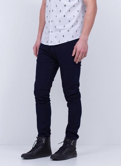 Calça Super Skinny em Jeans Dark