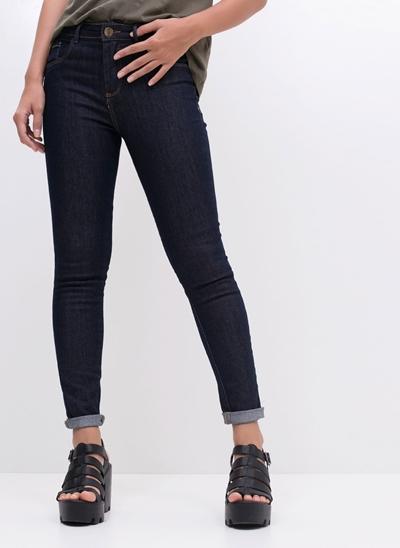 Calça Push Up em Jeans
