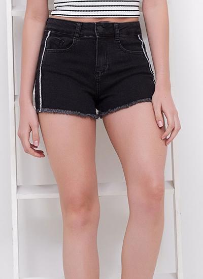 Short Regular em Jeans Elastano