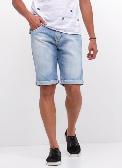 Bermuda Allday em Jeans