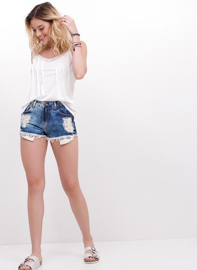 Short Micro em Jeans
