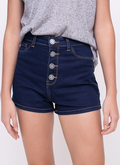 Short Hot Pants em Jeans