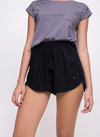 Short Runner com Tassel