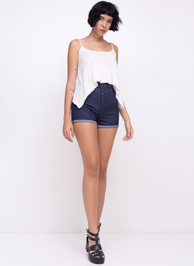 Short ECO Hot Pants Poá