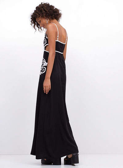Vestido Muso Longo Black