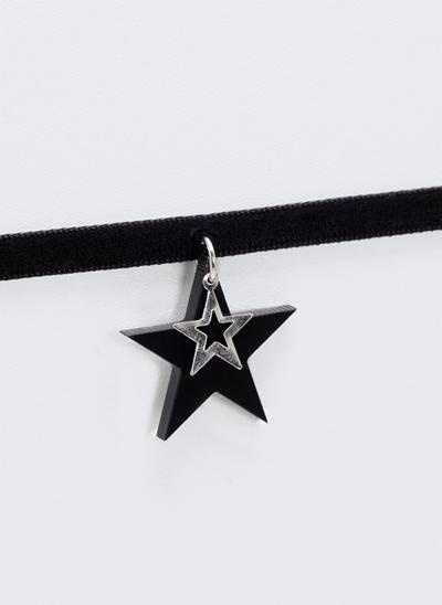 Colar Choker com Estrelas