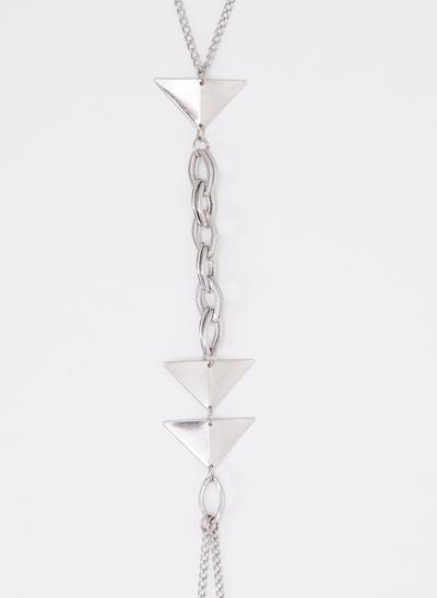 Colar Body Chain com Triângulos