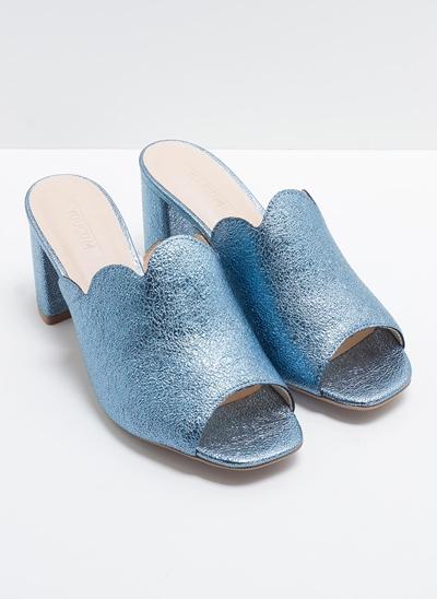 Sandália Mullet com Glitter