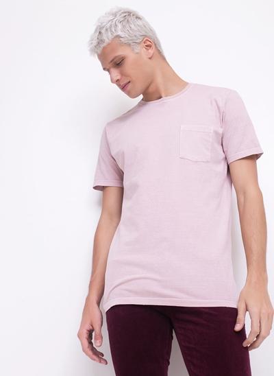 Camiseta Rose com Bolso