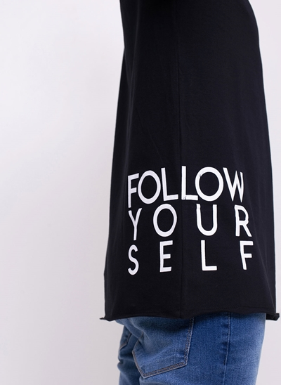 Camiseta Alongada Follow Yourself