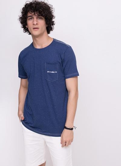 Camiseta com Bolsinho It's Déjà Vu