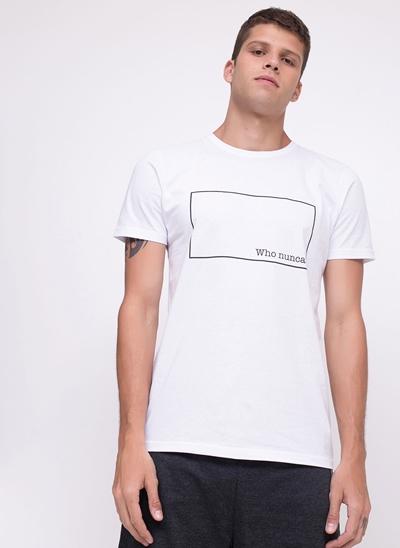 Camiseta Who Nunca?