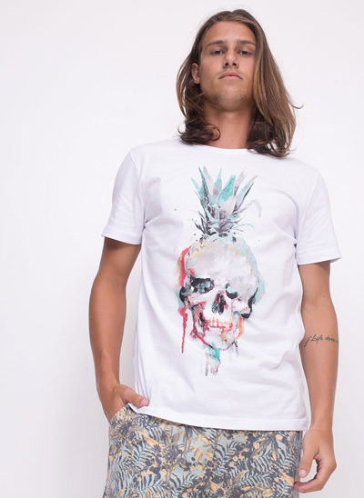 Camiseta Skull & Pineapple