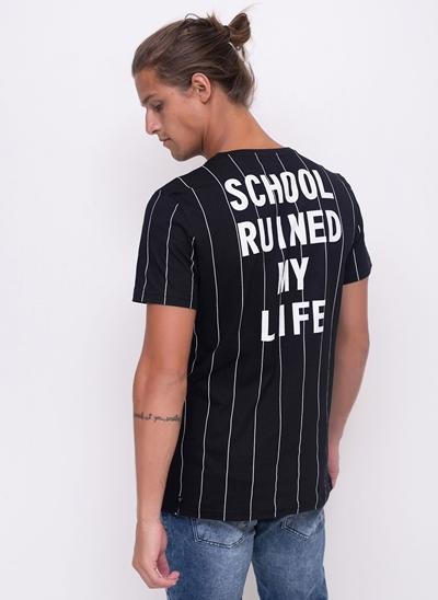 Camiseta School